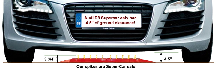 Super Car Safe One Way Traffic Spikes.